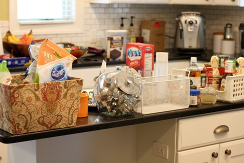 The pantry mess