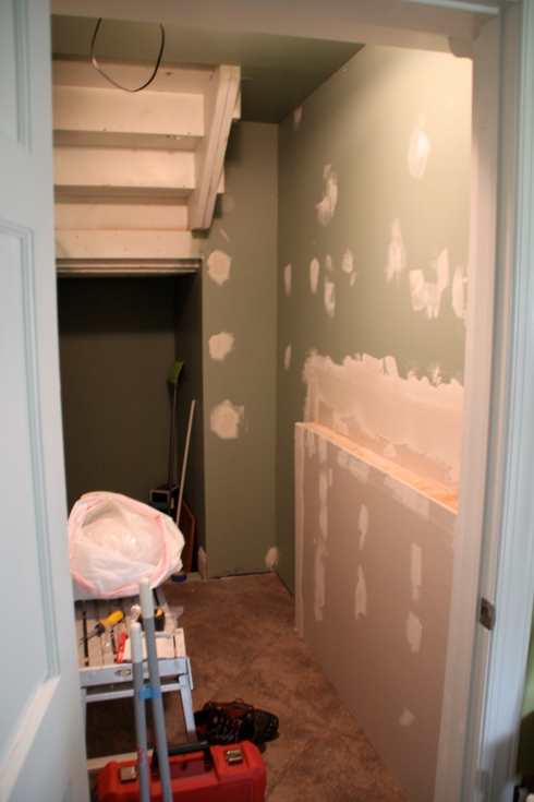 "Pantry room makeover ""before"""